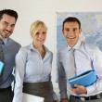 Successful business team portrait — Stock Photo #27878801
