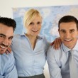 Stock Photo: Successful business team portrait
