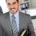 Portrait of successful businessman — Stock Photo