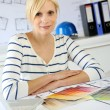 Portrait of woman architect in office — Stock Photo #27879109
