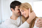 Sweet couple being in love — Stock Photo
