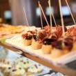 Closeup of Spanish tapas — Stock Photo