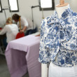 Stock Photo: Mannequin in dressmaking room