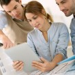 Architects working in office — Stock Photo #35266487