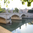 Bridge Vittorio Emmanuel II — Stock Photo