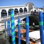Rialto bridge in Venice — Stock Photo