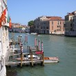 Canal grande from the Academia bridge — Stock Photo