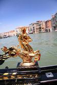 Gondola on water — Stock Photo