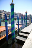 Boats in canal grande — Stockfoto