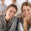 Working girls in office — Stock Photo