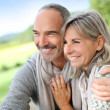 Loving senior couple — Stock Photo #35319095