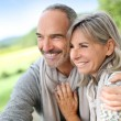 Loving senior couple — Stock Photo