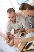 Setkání podnikatelů — Stock fotografie