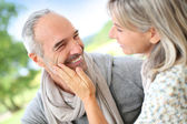 50-year-old couple — Stock Photo