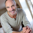 Mature man at home — Stockfoto