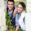 Stock Photo: Couple choosing rural lifestyle
