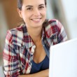 Cheerful student — Stock Photo