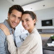 Couple embracing each other — Stock Photo