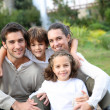 Parents with kids — Stock Photo #36646221