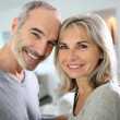 Stock Photo: Cheerful senior couple