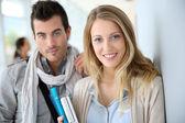 Students in university — Foto Stock