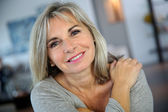 Attractive mature woman — Stock Photo