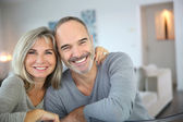 Cheerful senior couple — Stock Photo