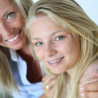 Mother with teenaged daughter — Stock Photo #38960355