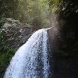 Stock Photo: Saut de lLezarde waterfalls