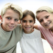 Stock Photo: Portrait of kids