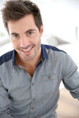Smiling handsome man — Stock Photo