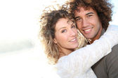 Romantic mature couple — Stock Photo