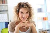 Smiling mature woman — Stock Photo