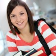 Student girl — Stock Photo #41328557