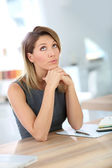 Beautiful mature businesswoman — Stock Photo