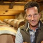 ������, ������: Winemaker standing in wine cellar