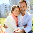 Mature couple embracing — Stock Photo #47779791