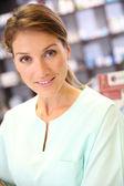 Pharmacist woman — Стоковое фото