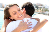 Couple hugging — Stock Photo