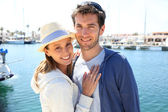 Couple ready for cruising — Stock Photo