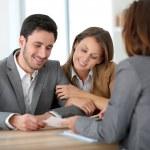Couple meeting financial adviser — Stock Photo #47820571