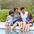 Parents with children — Stock Photo #47820935