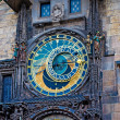 Astronomical Clock on Old Town Hall Tower in Prague — Stock Photo #20879567