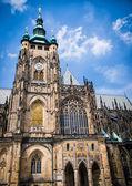 Prague Castle - Saint Vitus Cathedral — Stock Photo