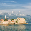 Stock Photo: Budva, Adriatic landscape - seand mountain
