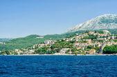 Kotor. Adriatic landscape - sea and mountain — Stock Photo