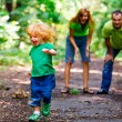 Portrait of Happy Family In Park — Stock Photo #13119534