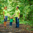Стоковое фото: Portrait of Happy Family In Park