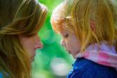 Madre con sua figlia — Foto Stock
