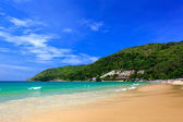 Beautiful summer Beach in Phuket, Thailand — Stock Photo